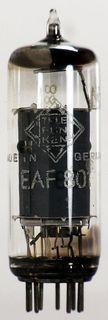 Radio Tube EAF801 Telefunken #1295