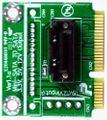 SATA 7pin 7polig SSD HDD zu mSata Adapter, von M-ware®. ID13113