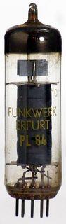 Elektronenröhre (TV) PL84 Funkwerk Erfurt ID1338