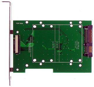 1.8in. 40pin Toshiba Hitachi ZIF HDD to SATA II SSD Adapter #13497