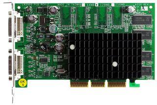 64MB nVidia GeForce FX5200 Dual Dvi S26361-D1910-V128 GS3 AGP ID14674
