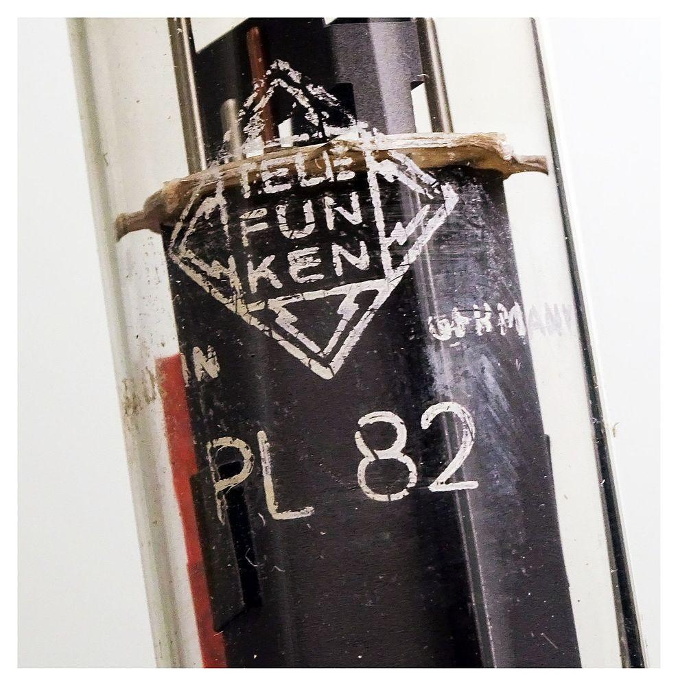 Vacuum Tube / Radio Valve (TV) PL82 Telefunken w  diamond #1498 | M-Ware