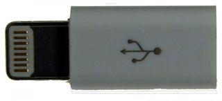 8pin Adapter Lightning zu Micro USB Typ B female, von M-ware®. ID14983