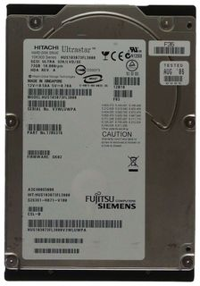 73GB Hitachi Ultrastar HDD HUS103073FL3800 Ultra 320 SCSI SCA ID14990