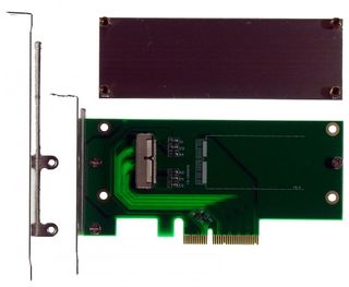 2013 MacBook Pro +Air SSD an PCI-e 4X Adapter, von M-ware®. ID15077