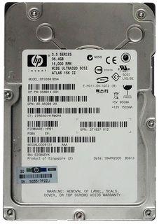 36,4GB HDD 15K II BF03687B54 Wide Ultra320 SCA SCSI ID16956