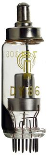 High Voltage Rectifier Tube (TV) DY86 MSN #171