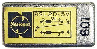 4pcs. Relais National RSL2D-5V #178
