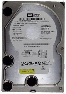320GB HDD WD Caviar SE WD3200AVJB ATA IDE ID17802