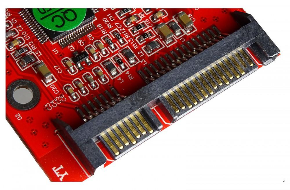 Compact Flash Karte.Compact Flash Cf Karte Zu Sata Hdd Adapter M Ware Id17889