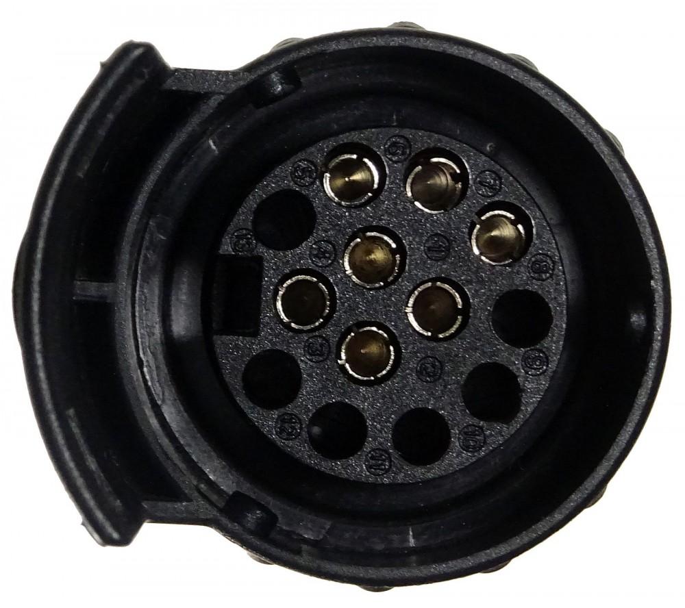 kfz adapter f r anh ngerkupplung 13 polig auf 7 polig id17891. Black Bedroom Furniture Sets. Home Design Ideas