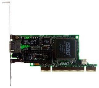 PCI-Netzwerkkarte SMC 10/100 MBit WOL DSL ID1810