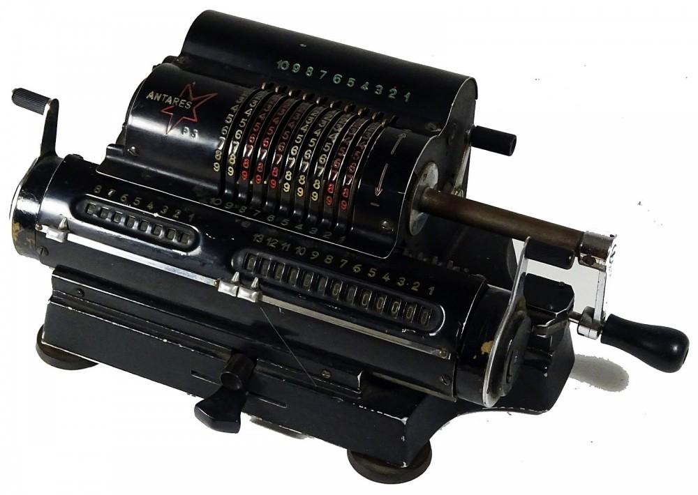 Antares, traumhaft schöne mechanische Rechenmaschine ID18442