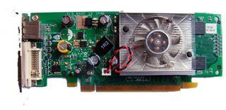 256MB PCIe-Grafikkarte Asus Cardinal nVidia GeForce 8400GS LP S-V+DVi ID18534