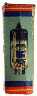 ECC91 Doppel-Triode. Eine Radioröhre von RFT Berlin. ID18616