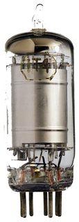 1T4 Vakuum-Pentode. Eine Radioröhre. ID19134