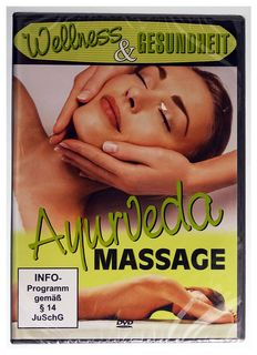 Ayurvedic massage, DVD, German, 66min, codefree #19201