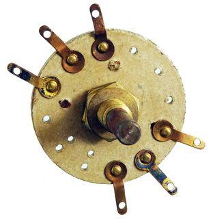 Wellenschalter für historische Radios, 30er-40er Jahre (1). ID19249