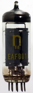 Radio Tube EAF801 Roehrenwerk Neuhaus #197