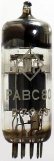 Vacuum Tube - Radio Valve (TV) PABC80 WF #206