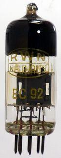 Radioröhre EC92 / 6AB4 RWN Neuhaus ID222