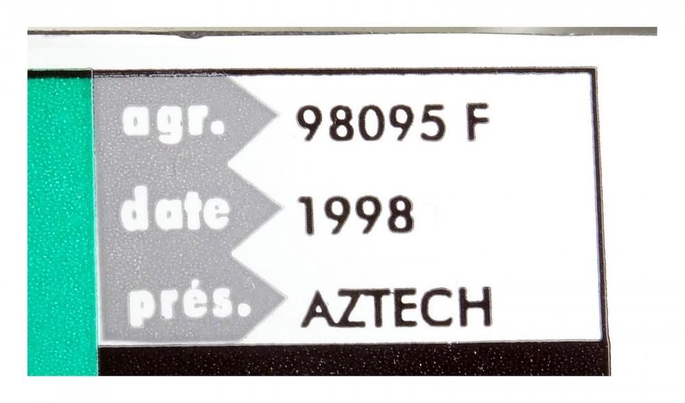 DRIVER: AZTECH MDP3858