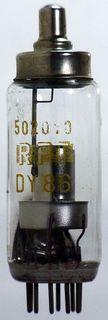 Hochspannungs-Gleichrichterröhre DY86 RFT ID264