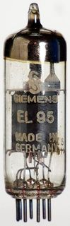 GEPRÜFT gut: Radioröhre EL95 Siemens ID291