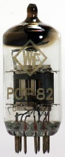 Vacuum Tube - Radio Valve (TV) PCF82 WF #330