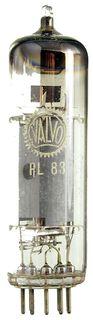 PL83 Pentode. Eine Elektronenröhre von Valvo ID373