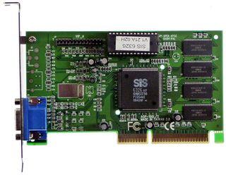 AGP Graphics Adapter SiS 5598/6326 #402