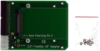 Notebook-HDD an IDE Adapterplatine, von M-ware®. ID424