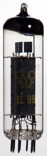 Radioröhre EL86 Funkwerk Erfurt ID453