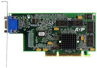 AGP-Grafikkarte Number Nine SR9 Savage 4 ID480