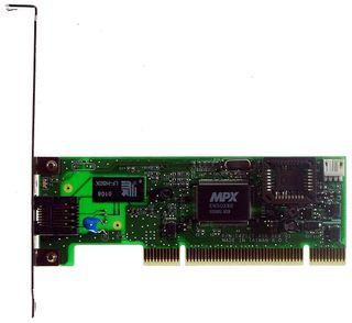 PCI Ethernet MPX EN5038B 10/100 WakeOnLan #503