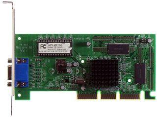 AGP-Grafikkarte nVidia Vanta ID524