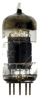 Radio Tube ECC85 (with ring) Telefunken diamond #5355