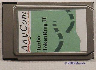 PCMCIA-Card Anycom Turbo TokenRing II o. Ad. ID538
