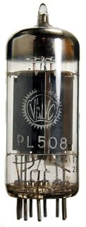 Vacuum Tube - Radio Valve (TV) PL508 Valvo #560