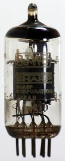 Radio Tube 9JW8 Sharp #577