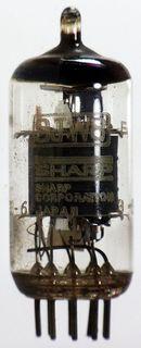 Radioröhre 9JW8 Sharp ID577