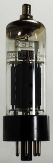 Radioröhre 25E5 Sharp ID583