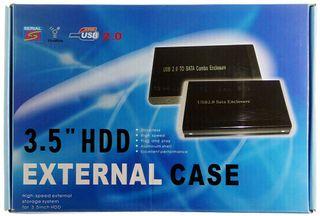 USB2.0 ext. HDD-Case silber IDE HD-0066 ID6040