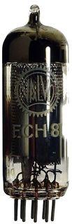 ECH81 Triode-Heptode. A vacuum radio tube by Valvo, Hamburg/Germany #61