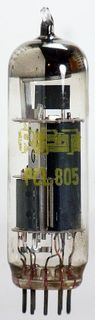 Elektronenröhre (TV) PCL805 RFT ID615