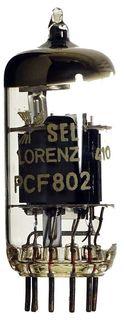 Vacuum Tube / Radio Valve (TV) PCF802 Lorenz SEL #623