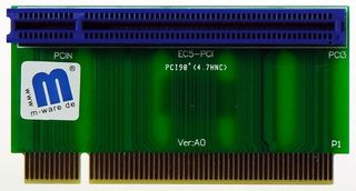 PA8007 PCI Raiser Riser 1 PCI-Slot 38mm, von M-ware®. ID6356