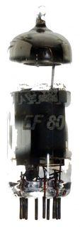 Radioröhre EF80 RFT ID8014