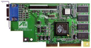 AGP Graphics Adapter ATI 3D Rage Pro AGP2x #809