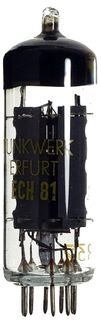 Radio Tube ECH81 Funkwerk Erfurt #81